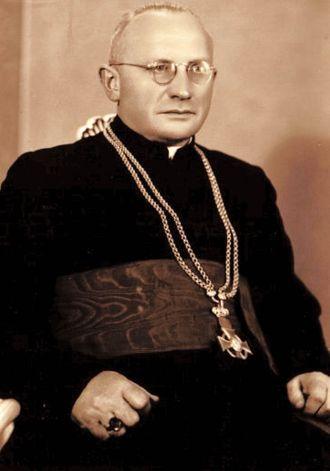 KsiAi??dz biskup Szczepan Sobalkowski. Fot. arch. Opublikowano w 'Naszym Dzienniku', w numerze 175 (2888) z dnia 28-29 lipca 2007 r.