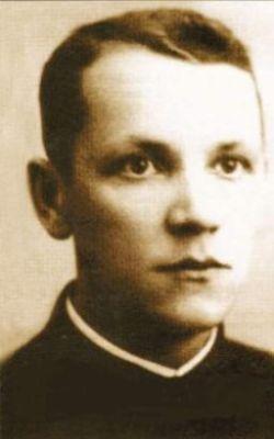 Ks. Władysław Gurgacz (1914-1949). Fot. arch. Opublikowano w 'Naszym Dzienniku', w numerze 303 (3016) z dnia 29-30 grudnia 2007 r.