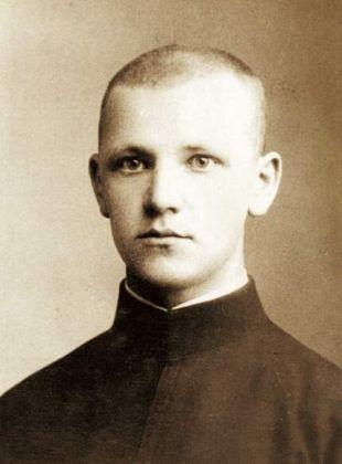 Władysław Gurgacz jako kleryk. Fot. arch. Opublikowano w 'Naszym Dzienniku', w numerze 303 (3016) z dnia 29-30 grudnia 2007 r.