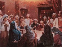 Ukazały się imteż języki jakby z ognia , które się rozdzieliły, i na każdym z nich spoczął jeden. I wszyscy zostali napełnieni Duchem Świętym, i zaczęli mówić obcymi językami, tak jak im Duch pozwalał mówić' (Dz. 2,3-4)