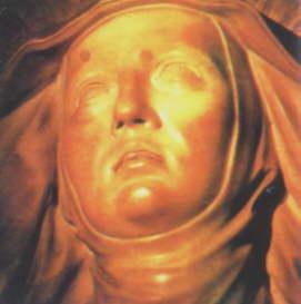 Święta Brygida w ekstazie. Bernini,  XVII w.