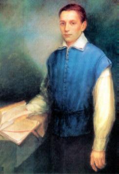 Święty Stanisław Kostka (1550-1568), jezuita, patron młodzieży