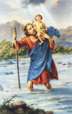 Święty Krzysztof, Patron Podróżujących